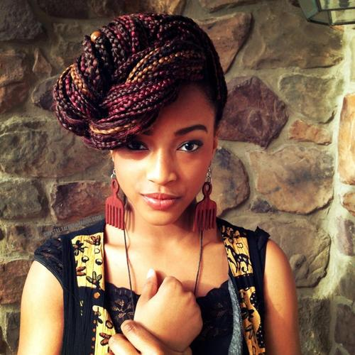 How To Style Box Braids Curly By Nature