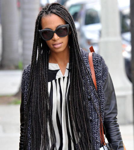 How To Style Box Braids - Curly By Nature