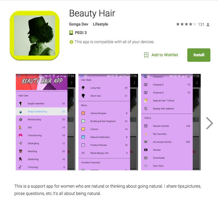 Beauty Hair App